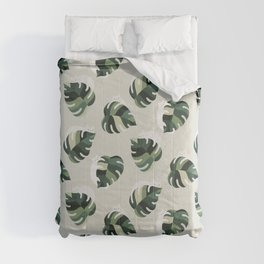 Cat and Plant Pattern 3 Comforters