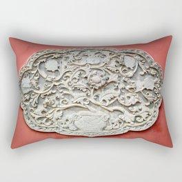 Temple Wall Art Rectangular Pillow