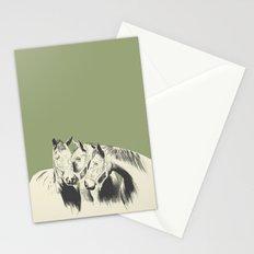 3 Horses Stationery Cards