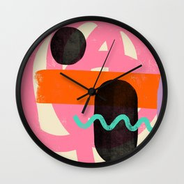 THOUGHTS Wall Clock