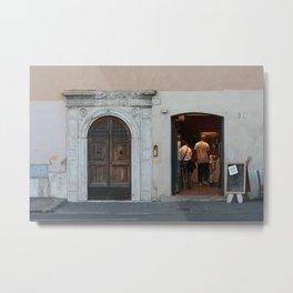 Roman Doorways Rome Italy Metal Print