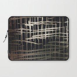 metallic grid Laptop Sleeve