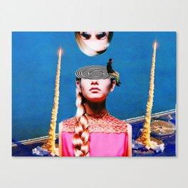 An open mind Canvas Print