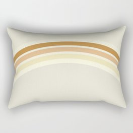 one day – earthen clay layers Rectangular Pillow