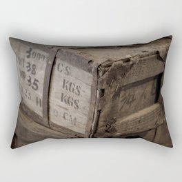 Antique Crates Rectangular Pillow