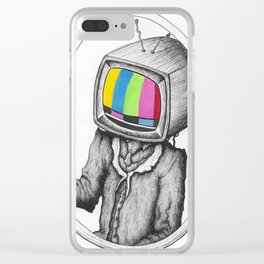 Intermission Clear iPhone Case