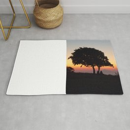 An African Sunset Rug