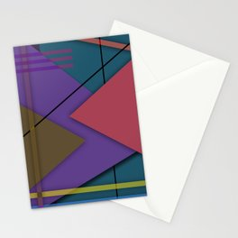 Abstract #413 Stationery Cards