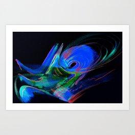 Aurora Windstorm Art Print