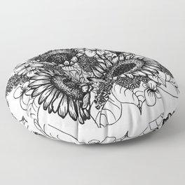 sunflowerful Floor Pillow