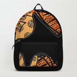 Peace Love Fall Thanksgiving Custome Backpack