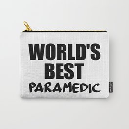 worlds best paramedic Carry-All Pouch