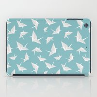 origami iPad Cases featuring Origami by Albardado