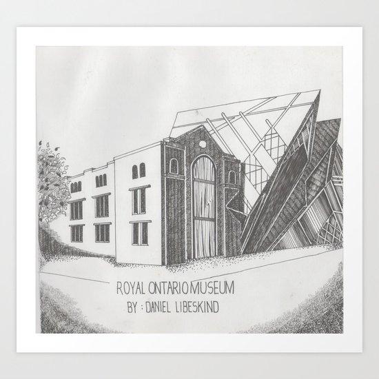 Royal Ontario Museum Art Print