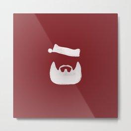 christmas .. santa's beard Metal Print
