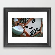 WARRIOR. Framed Art Print