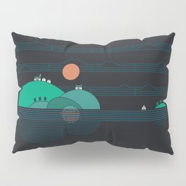 Island Folk Pillow Sham