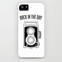 Back in the Day Old Camera iPhone Case