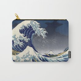 Great Wave: Kanagawa Night Carry-All Pouch