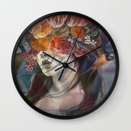 Midnight Muse Wall Clock