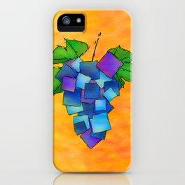 Jamurissa - square grapes iPhone Case