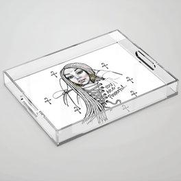 #STUKGIRL ASHLITA Acrylic Tray