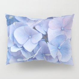 Blue Hydrangeas #3 #decor #art #society6 Pillow Sham