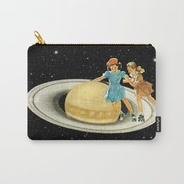 Stroll on Saturn Carry-All Pouch