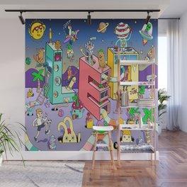Leo Mural 8x8 Wall Mural