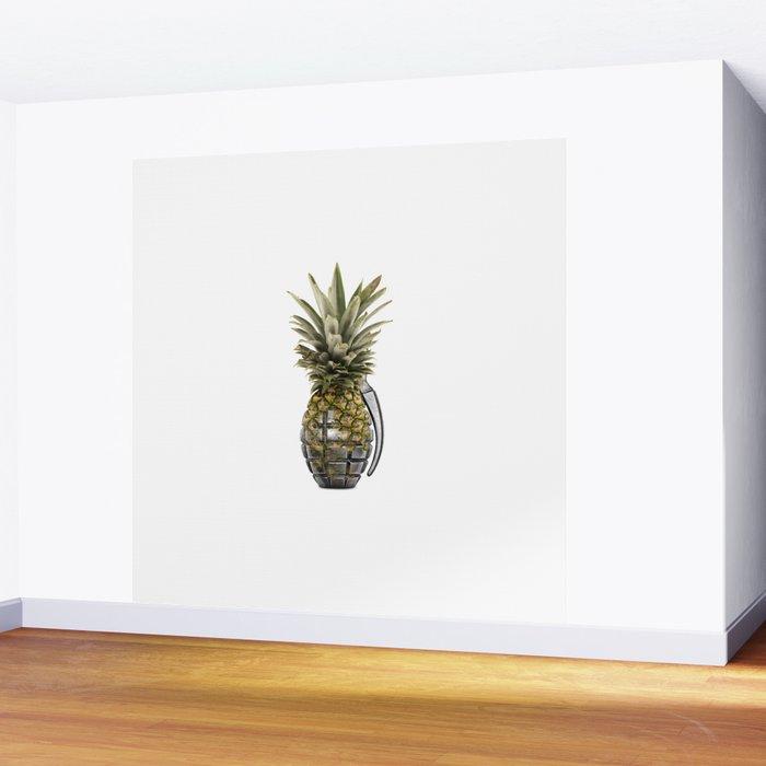 Pineapple Grenade Wall Mural