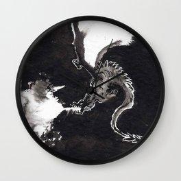 ink dragon Wall Clock