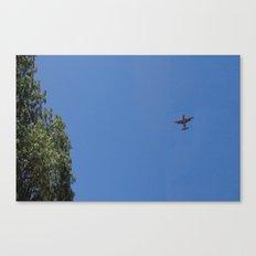 Airplane C130h Canvas Print