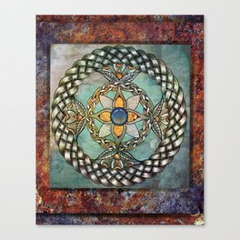 Mindful Passage Celtic Knot Canvas Print
