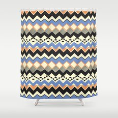 Ethnic Color Shower Curtain
