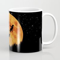 neverland Mugs featuring Take Me To Neverland by alifart