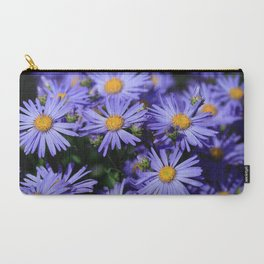 Purple Daisies Carry-All Pouch