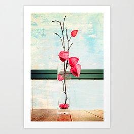 Elegance 02 (Chinese Lantern) Art Print