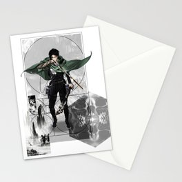 Captain Levi Attack on Titan Shingeki no kyojin Stationery Cards