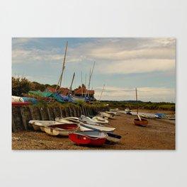 The Harbour - Burnham Overy Staithe Canvas Print