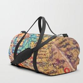 Globe Duffle Bag