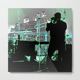 Big Sam (Trombone Man) Metal Print