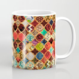 -A32- Epic Colored Traditional Moroccan Artwork. Coffee Mug