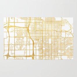 SALT LAKE CITY UTAH CITY STREET MAP ART Rug