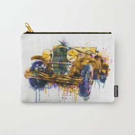 Oldtimer Automobile Watercolor Painting Carry-All Pouch