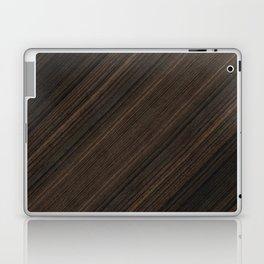 Ebony Macassar Wood Laptop & iPad Skin