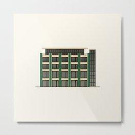 Public building Metal Print
