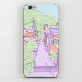 Another everyday place in Japan iPhone Skin