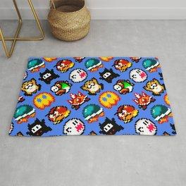 Super Mario World   Enemies Pattern Rug
