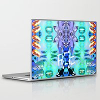 miley cyrus Laptop & iPad Skins featuring MILEY CYRUS by Riot Clothing