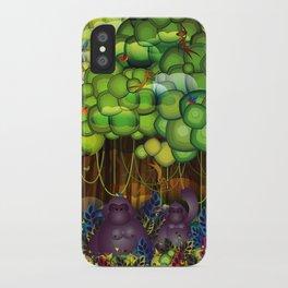 Jungle of colors iPhone Case